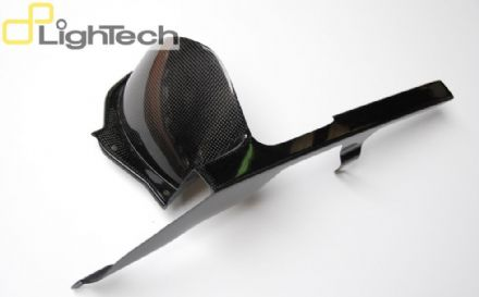 Lightech Carbon Fibre Rear Mudguard With Chain Protection Yamaha YZF R1 (09-14)